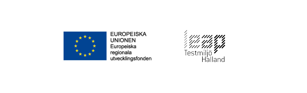 Logos: Leap for Life, Testmiljö Halland and ERUF (European regional development fund)
